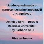 Uvodno predavanje o transcendentalnoj meditaciji Kragujevac